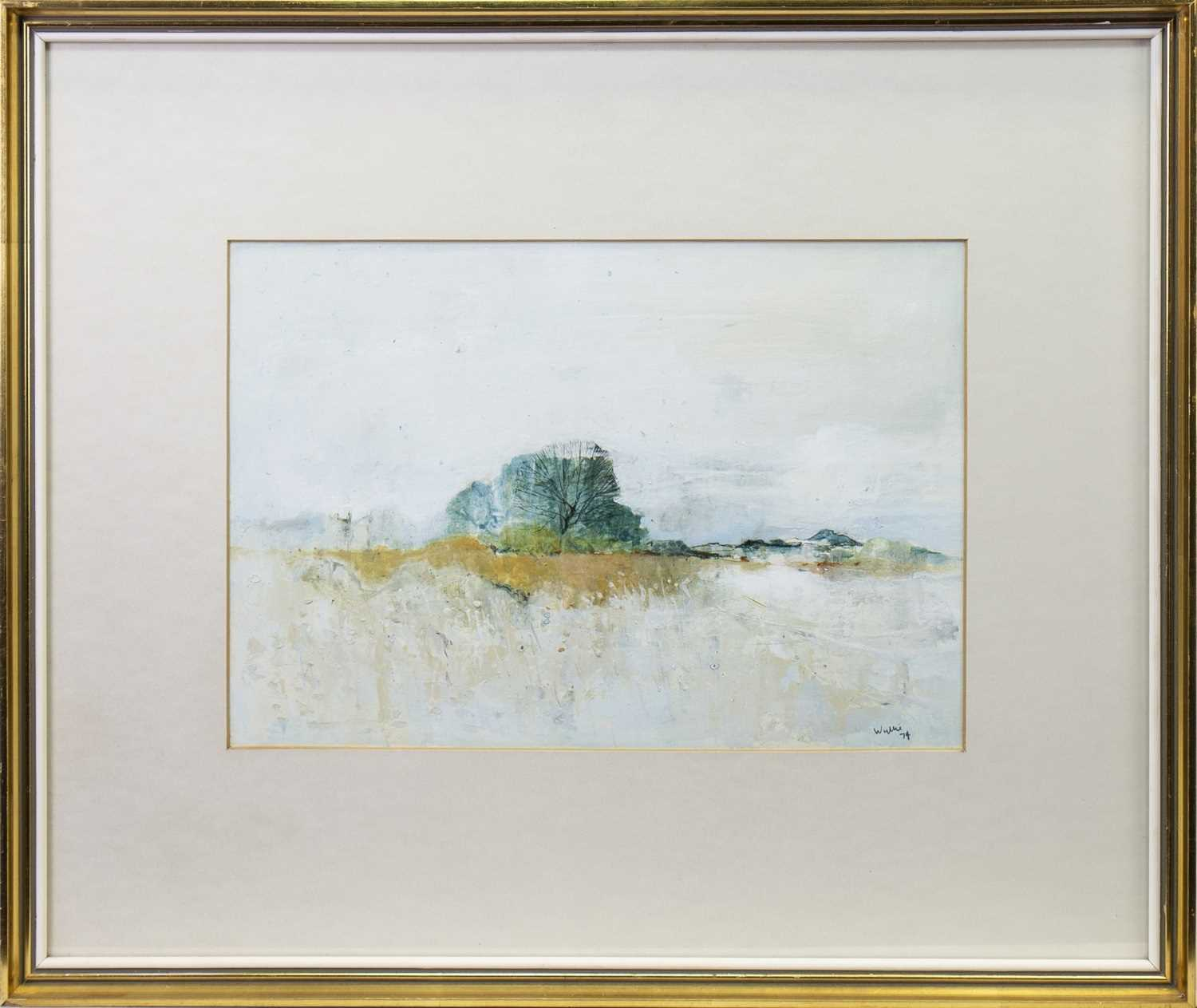 Lot 663-BEN LOMOND, A MIXED MEDIA BY GORDON HOPE WYLLIE