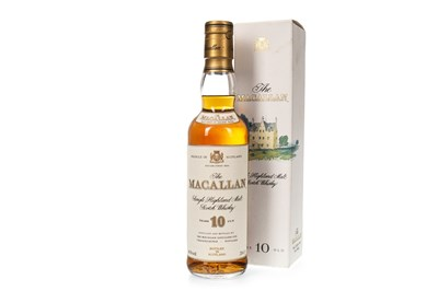 Lot 13-MACALLAN 10 YEARS OLD 35CL