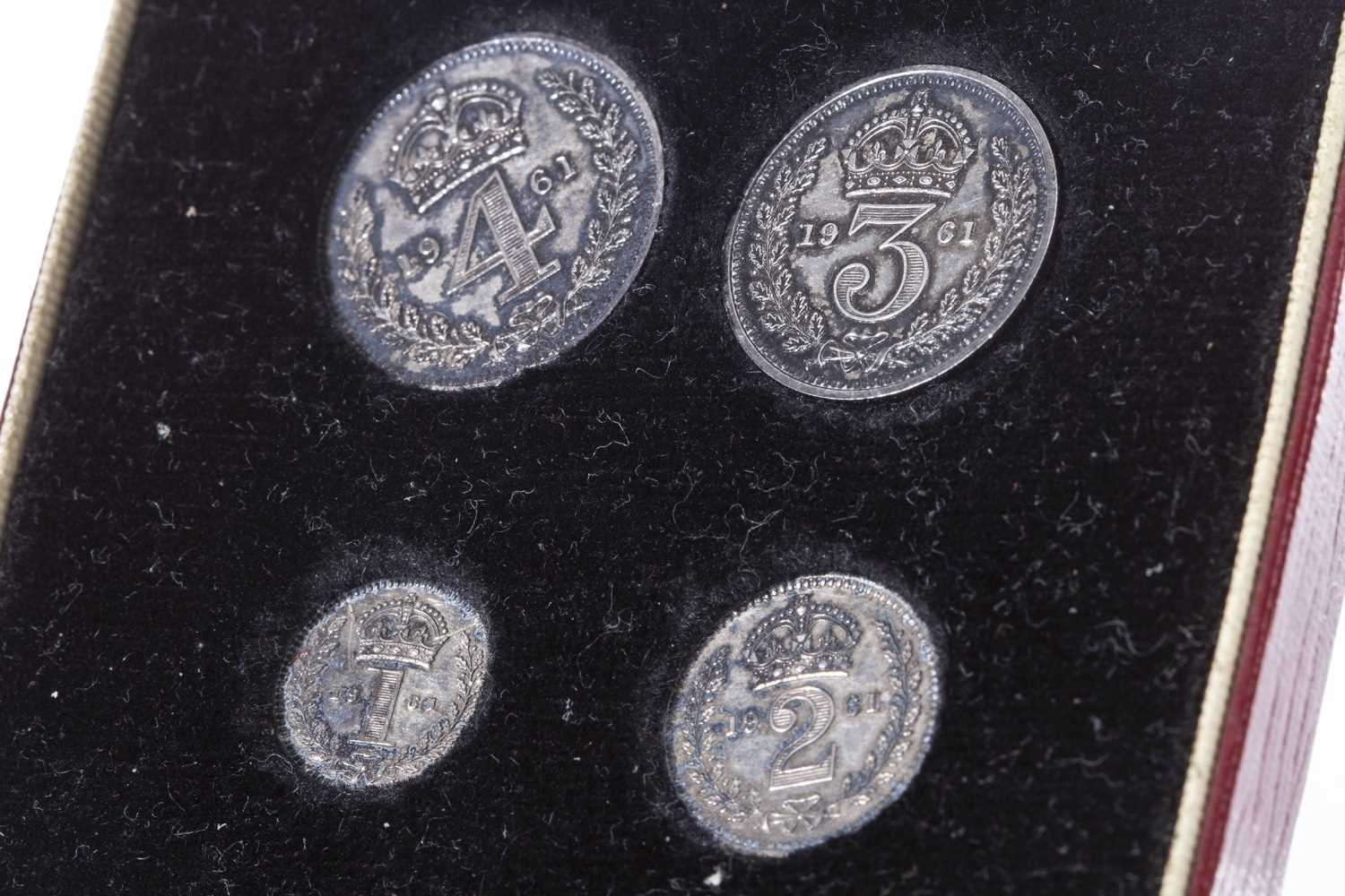 Lot 527-A MAUNDY MONEY SET, 1961