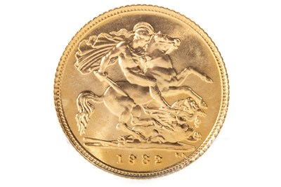 Lot 507-A GOLD HALF SOVEREIGN, 1982