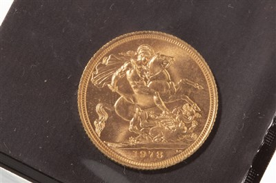 Lot 534-A GOLD SOVEREIGN, 1978