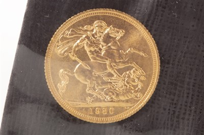 Lot 535-A GOLD SOVEREIGN , 1980