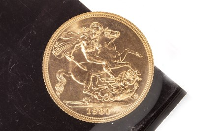 Lot 541-A GOLD SOVEREIGN, 1981