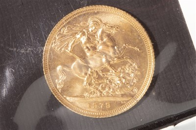 Lot 542-A GOLD SOVEREIGN, 1979