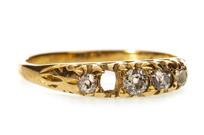 Lot 20-A VICTORIAN DIAMOND RING