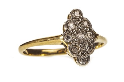 Lot 18-A LATE VICTORIAN DIAMOND RING