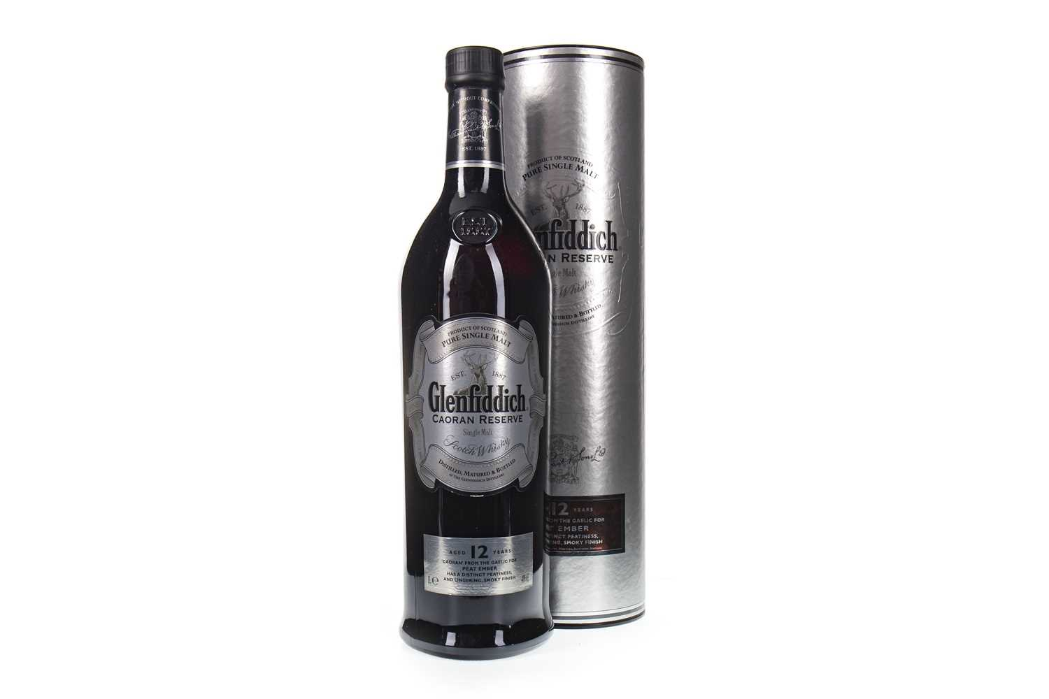 Lot 316-GLENFIDDICH CAORAN RESERVE AGED 12 YEARS