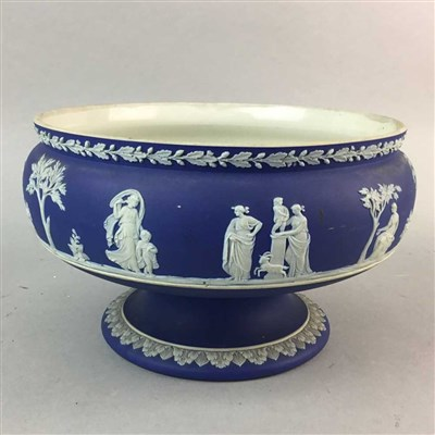 Lot 19-A WEDGWOOD JASPER WARE BOWL