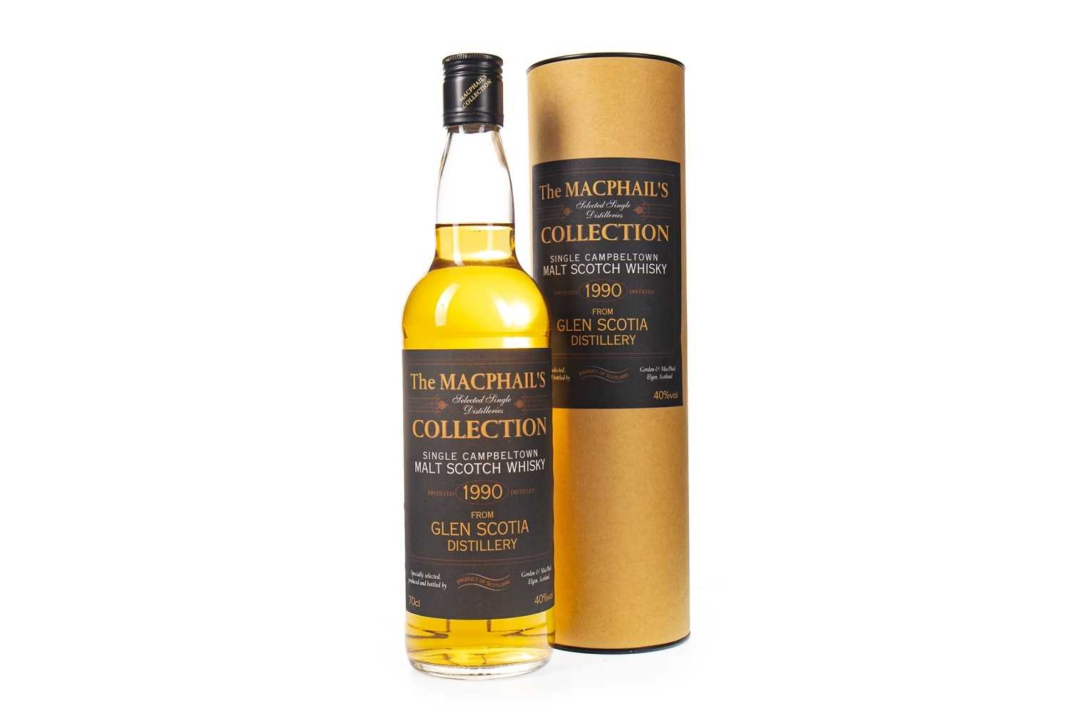 Lot 327-GLEN SCOTIA 1990 MACPHAIL'S COLLECTION