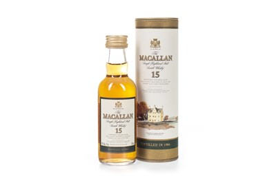 Lot 1-MACALLAN 1984 15 YEARS OLD MINIATURE