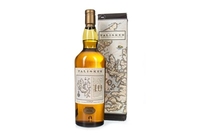Lot 2-TALISKER 10 YEARS OLD MAP LABEL - ONE LITRE