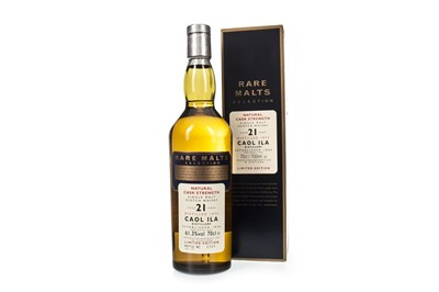 Lot 4-CAOL ILA 1975 RARE MALTS AGED 21 YEARS