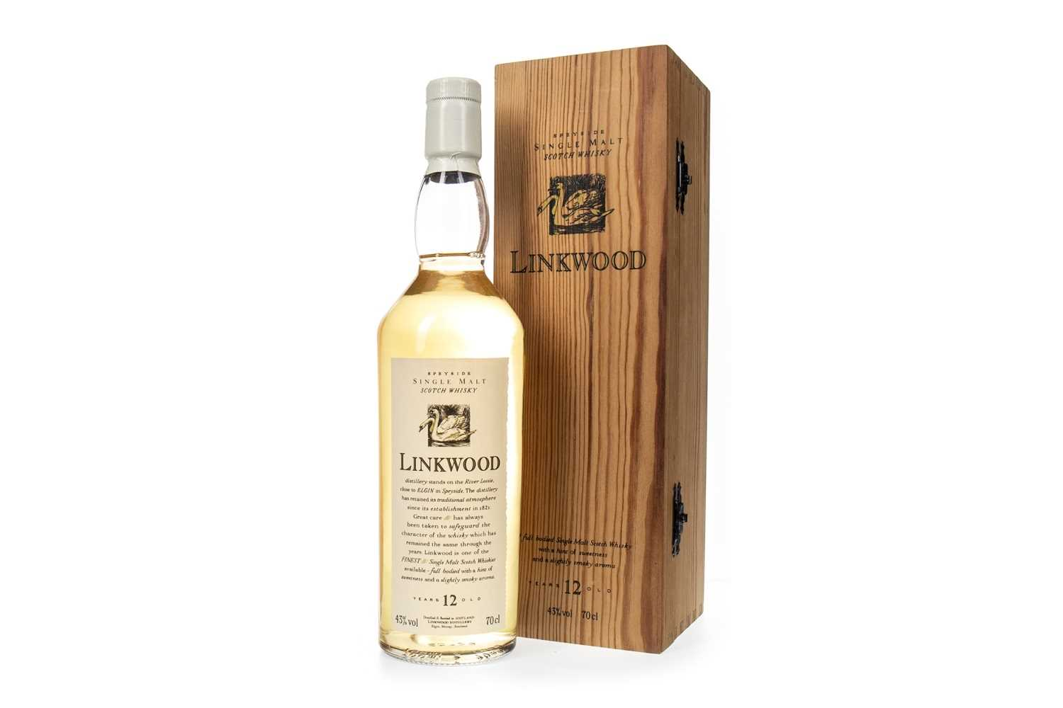 Lot 5-LINKWOOD AGED 12 YEARS FLORA & FAUNA - FIRST RELEASE
