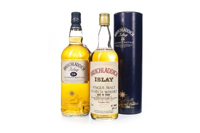 Lot 7-ONE LITRE AND ONE BOTTLE OF BRUICHLADDICH AGED 10 YEARS