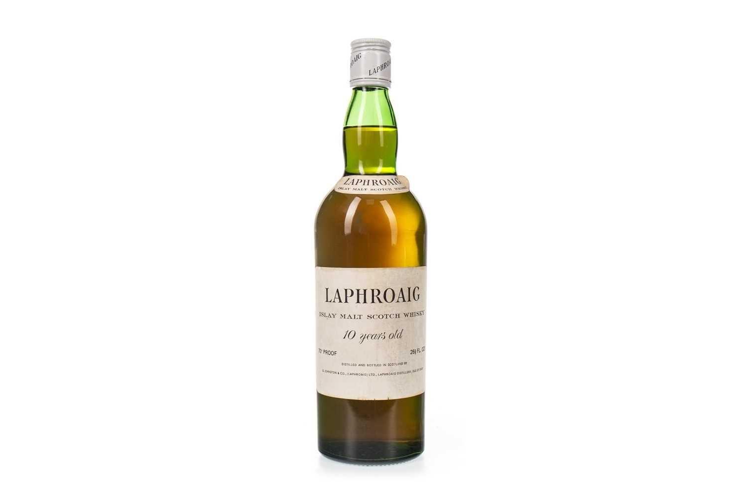 Lot 20-LAPHROAIG 10 YEARS OLD PRE-ROYAL WARRANT