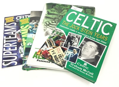 Lot 1965-A COLLECTION OF BOOKS RELATING TO CELTIC F.C.