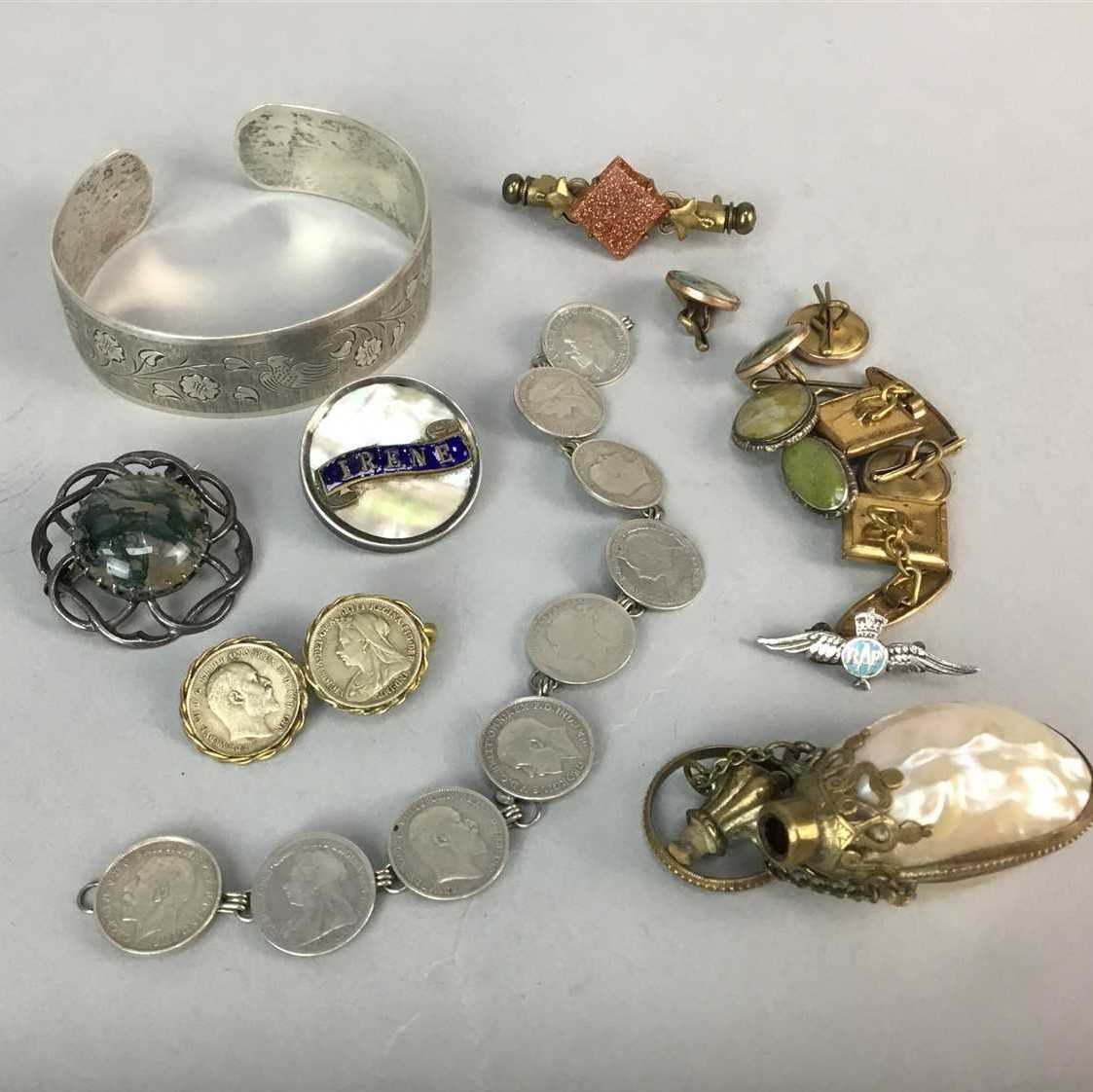 Lot 2-A COLLECTION OF COSTUME AND OTHER JEWELLERY
