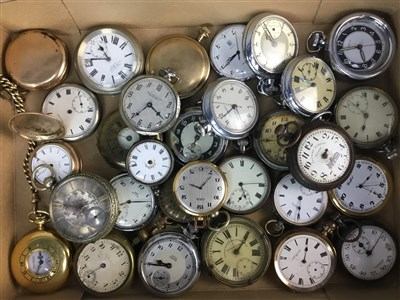Lot 3-A COLLECTION OF POCKET WATCHES