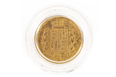 Lot 536-A GOLD SOVEREIGN, 1843