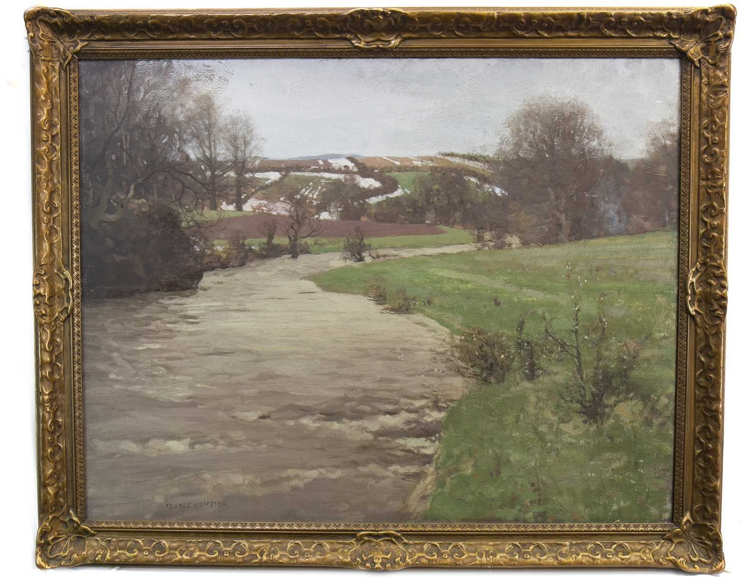 Lot 421-SPRING, AN OIL BY GEORGE HOUSTON