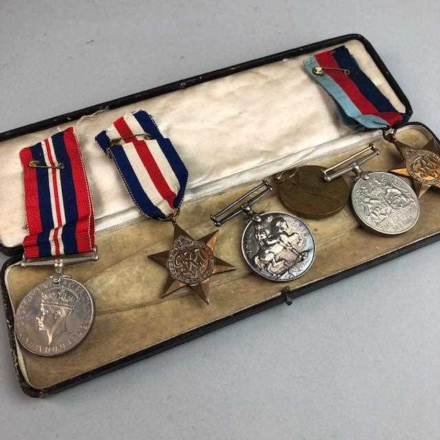 Lot 21-SIX MEDALS