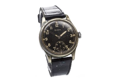 Lot 776-A GENTLEMAN'S GRANA MILITARY ISSUE WRIST WATCH