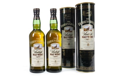 Lot 427-TWO BOTTLES OF FAMOUS GROUSE 1987 AGED 12 YEARS