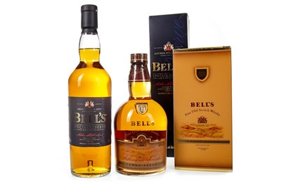 Lot 430-BELL'S CONNOISSEUR 12 YEARS OLD AND BELL'S SPECIAL RESERVE