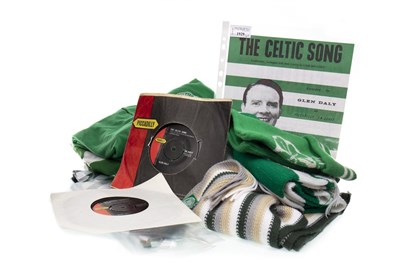 Lot 1929-GLEN DALY, THE CELTIC SONG '45 VINYL AND OTHER CELTIC MEMORABILIA
