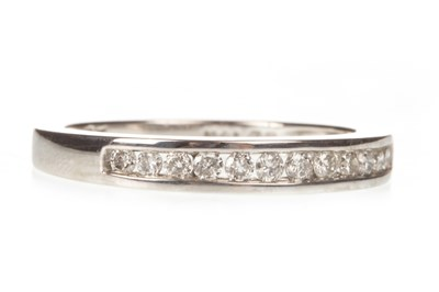 Lot 136-A DIAMOND HALF ETERNITY RING