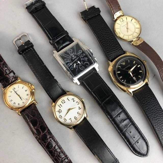 Lot 2-A LOT OF COSTUME AND OTHER WATCHES