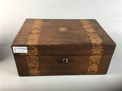 Lot 16-A PORCUPINE QUILL BOX