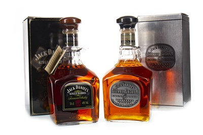 Lot 432-JACK DANIELS SILVER SELECT AND SINGLE BARREL