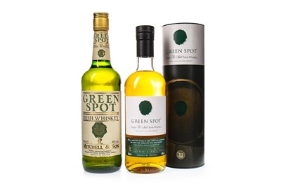 Lot 438-TWO BOTTLES OF GREEN SPOT