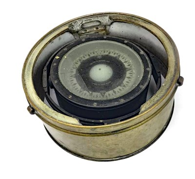 Lot 806-A SHIPS BINNACLE COMPASS