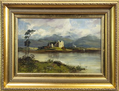 Lot 603-CASTLE BY A LOCH, AN OIL