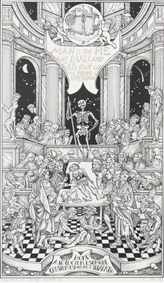 Lot 521-LANARK - BOOK TWO, A LITHOGRAPH BY ALASDAIR GRAY