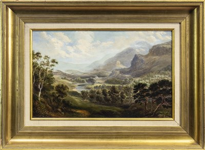Lot 434-LANDSCAPE, POSSIBLY GLENCOE, AN OIL