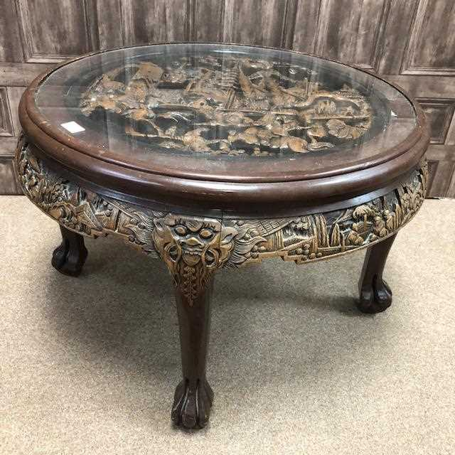 Lot 1026-A CHINESE NEST OF TABLES