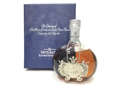 Lot 446-WHYTE & MACKAY ROYAL WEDDING 12 YEARS OLD