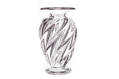 Lot 1224-A FRENCH GLASS VASE