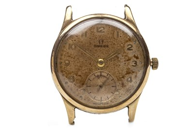 Lot 768-A GENTLEMAN'S OMEGA 1940S GOLD WATCH