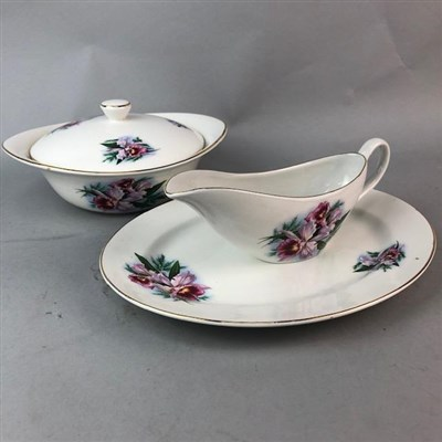 Lot 23-AN OLD FOLEY PART DINNER SERVICE