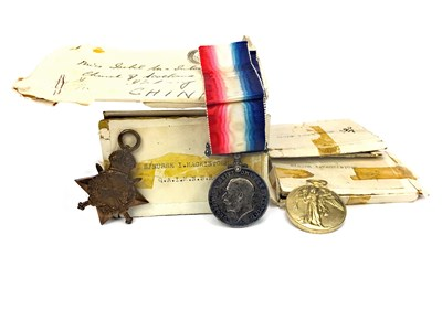 Lot 822-A WWI MEDAL GROUP AWARDED TO SISTER ISOBEL MACKINTOSH