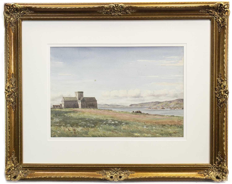 Lot 446-IONA, A WATERCOLOUR BY JAMES ELLIOT SHEARER