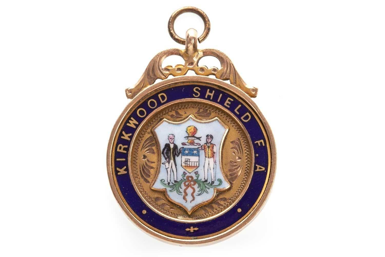 Lot 1803-A KIRKWOOD SHIELD F.A. GOLD MEDAL 1921