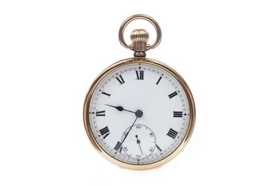 Lot 780-A NINE CARAT GOLD POCKET WATCH