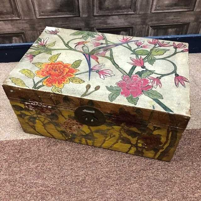 Lot 1023-LATE 19TH/EARLY 20TH CENTURY CHINESE WEDDING CHEST