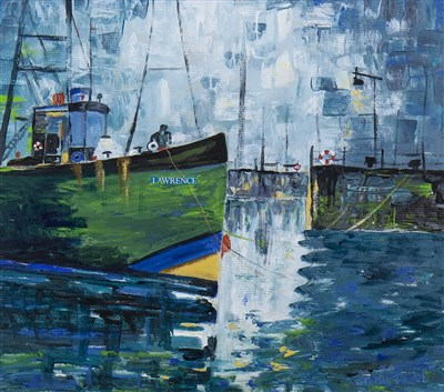 Lot 615-PITTENWEEM, AN OIL BY JUNE TODD
