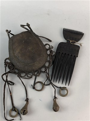 Lot 12-A GROUP OF AFRICAN ITEMS